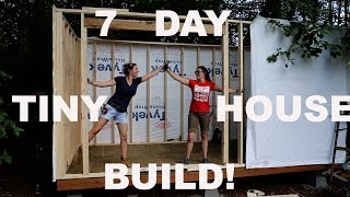 Building a Tiny House with April Wilkerson in 7 Days