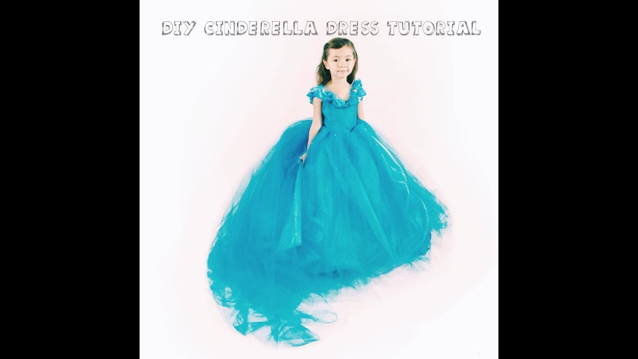 DIY Cinderella Dress Tutorial - YouTube