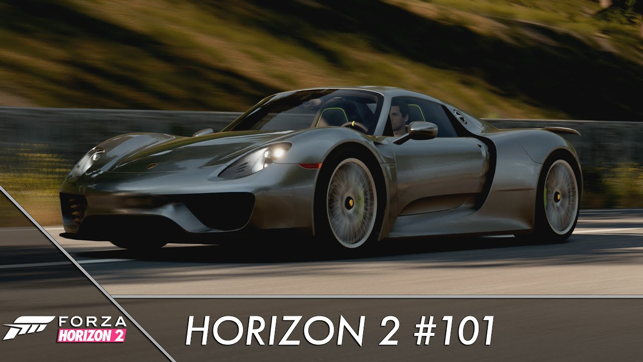 let 39 s play forza horizon 2 101 der porsche 918 spyder youtube. Black Bedroom Furniture Sets. Home Design Ideas