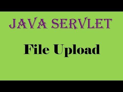 File Upload in Java Servlet