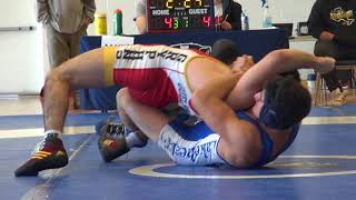 2018 Brock Open FS57kg Oren Furmanov (Guelph) vs Marco Palermo (Lakehead)