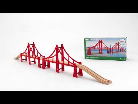 BRIO World - 33683 Double Suspension Bridge
