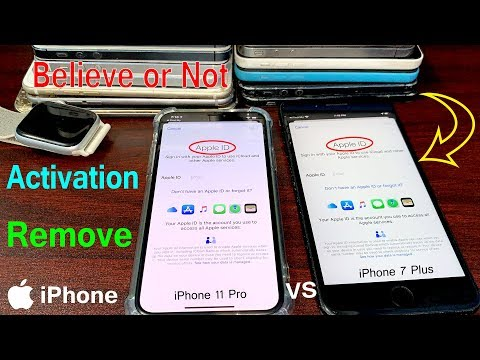 Believe or Not it's 1000% Working Method For Activation Lock Remove iCloud iPhone