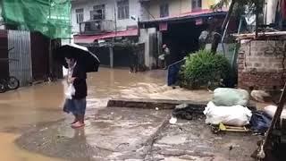 Rain in Taunggyi, Shan State
