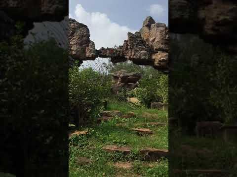 Natural Arch, Tirumala hills is a distinctive geological feature