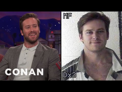Armie Hammer Tells The Story Of His 2011 Arrest  - CONAN on TBS