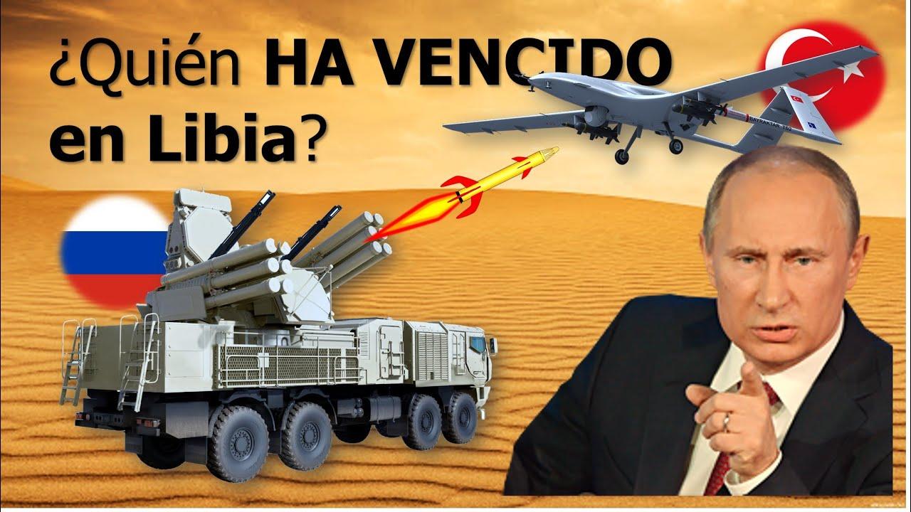 😱 Drones turcos CONTRA antiaéreos RUSOS en Libia | Este es el resultado.