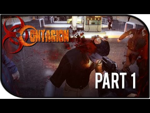 Contagion Gameplay Part 1 – Barlowe Square of Doom! Coop Gameplay