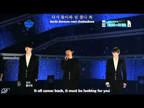 BEAST - On Rainy Days (Hangul + Romanization + English)