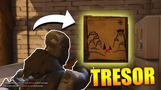 CARTE AU TRÉSOR SNOBBY SHORES EMPLACEMENT sur FORTNITE Battle Royale !!