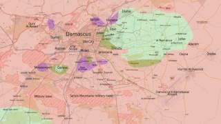 Damascus Timelapse - February 2014 - July 2016