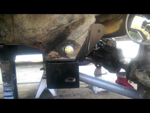 89 Cherokee RC Control Arm Drop Bracket Install