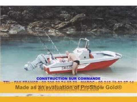 bateau maroc occasion
