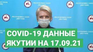 Брифинг Ольги Балабкиной об эпидобстановке в Якутии на 17 сентября