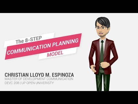 The 8 Step Communication Planning Model
