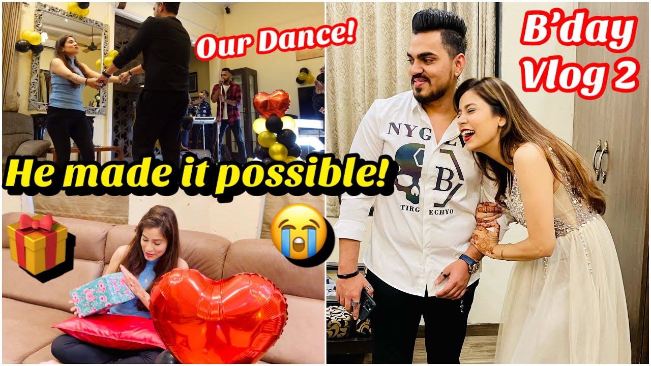 Download OMG😭 What he gifted me?🎁🤑 What a Surprise😱   Birthday Vlog Pt.2   Sejal Vlogs