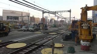 185系 臨時快速ムーンライトながら 大垣行き 名古屋駅発車