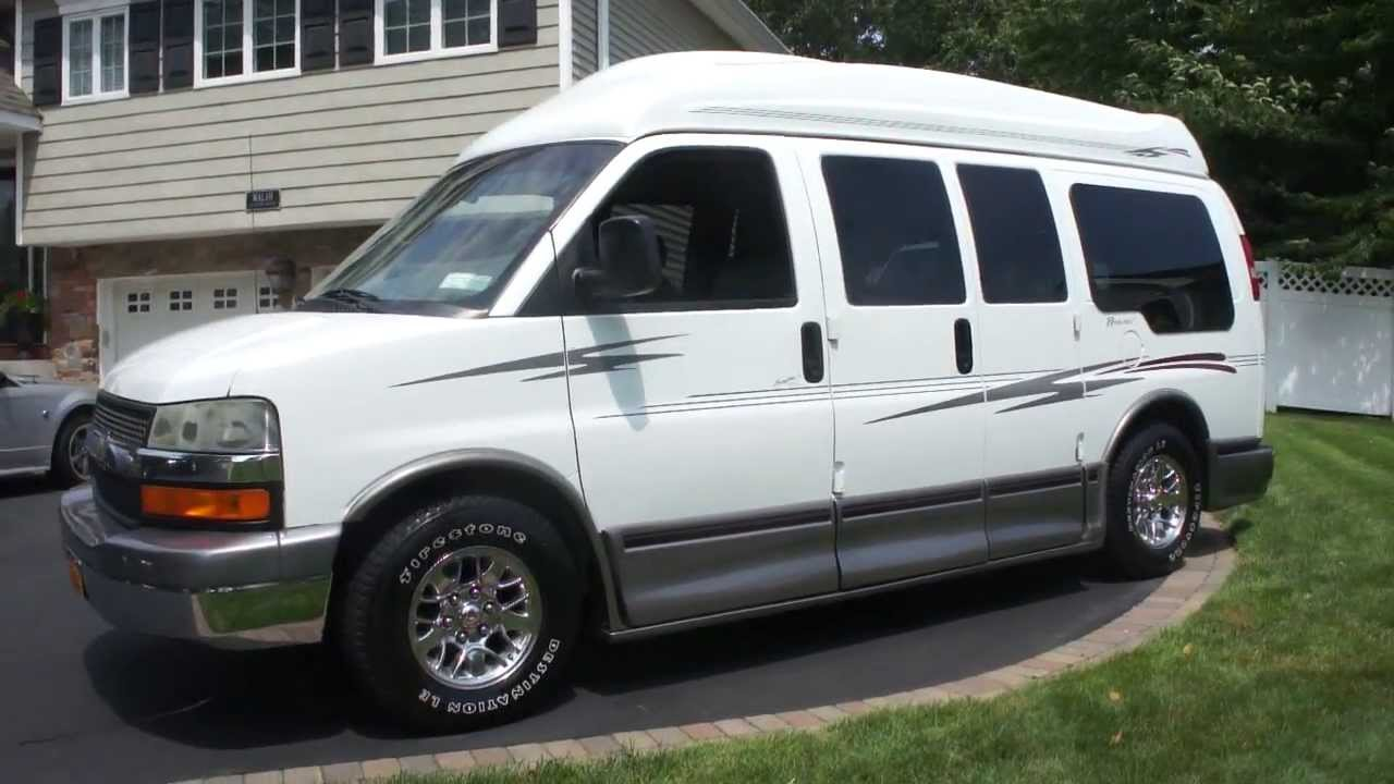 SOLD2004 Chevrolet Express 1500 AWD Conversion VanBrougham Ultra Regency Loaded Van