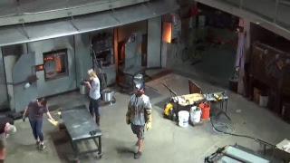 Hot Shop LIVE:Visiting Artist- Richard Royal: Live glassblowing from the Museum of Glass, Tacoma,...