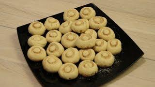 """Песочные печенье """"грибочки"""" - вкусно и просто"""