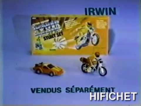 Power Blasters Stunt & Rebound Racer Irwin (Publicité Québec)