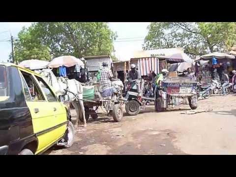 Arrivée au marché de Tambacounda