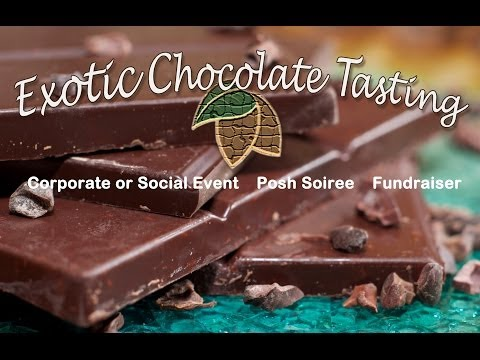 Exotic Chocolate Tasting 2014
