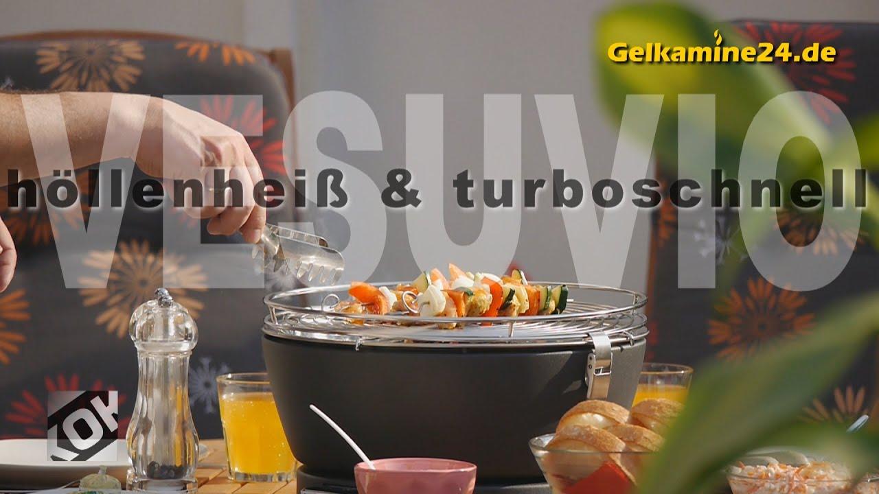 El Fuego Holzkohlegrill Tulsa Test : Vesuvio feuerdesign ® tischgrill campinggrill bootsgrill bei