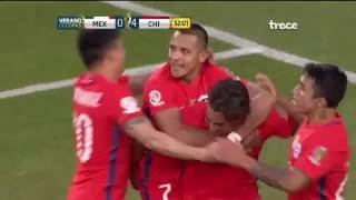 Esto no es la copa de oro esto es la COPA AMERICA! - Chile  7-0 México