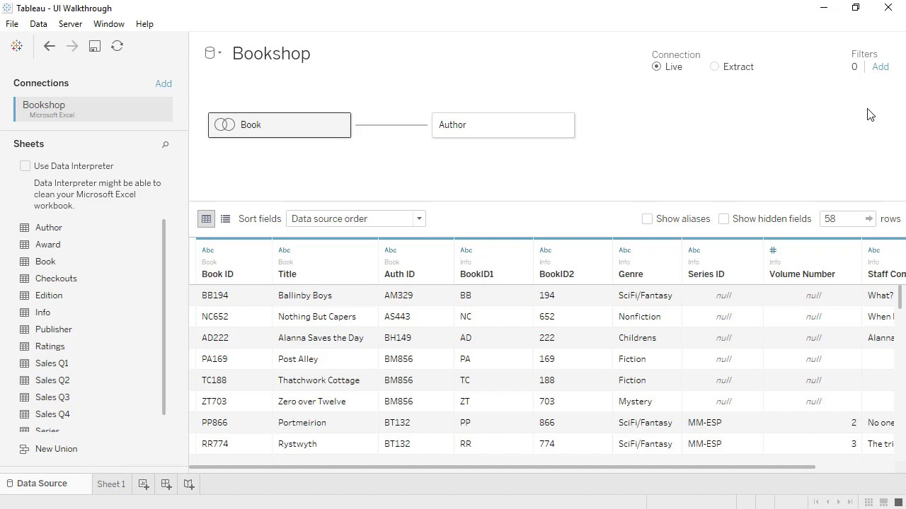 Tableau Beta 2020.2 | Discover new data modeling capabilities and relationships