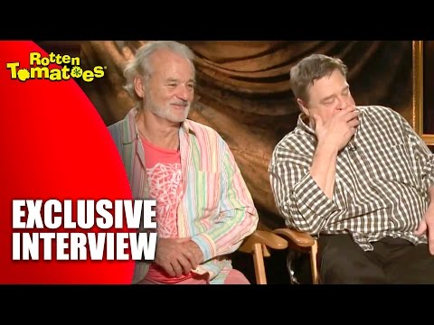 Bill Murray Gets Philosophical - Exclusive 'The Monuments Men' Interview (2014)
