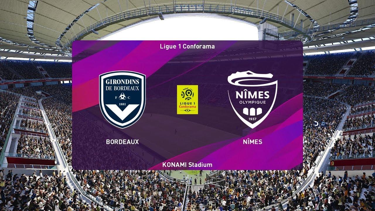 Xem lại Bordeaux vs Nimes, Ligue 1 – 4/12/2019
