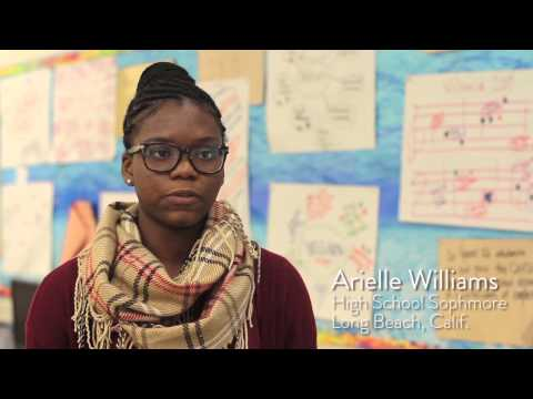 What Would You Like to Learn from the YWEC? Arielle Williams