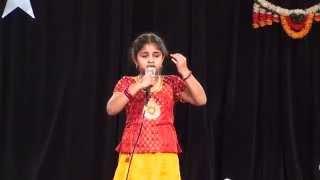"""Shreya Madhu - """"Bharata Bhooshira Mandira Sundari"""" from Upaasane movie"""