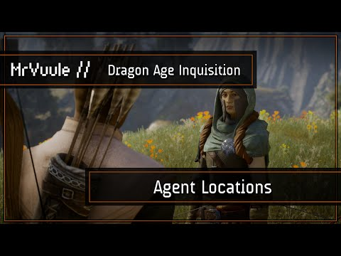 Dragon Age: Inquisition - 22 Agent Locations/Guide ('Persuasive' Trophy/Achievement)