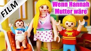 Playmobil Film Deutsch - WENN HANNAH KINDER HÄTTE...! ZUKUNFT VON FAMILIE VOGEL - Kinderserie