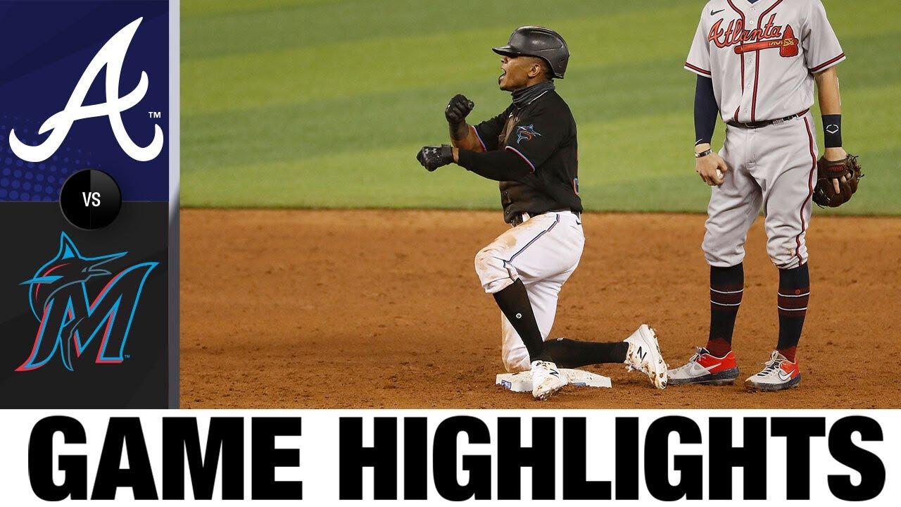 Jesús Aguilar, Jonathan Villar lead Marlins to 8-2 win | Braves-Marlins Game Highlights 8/14/20