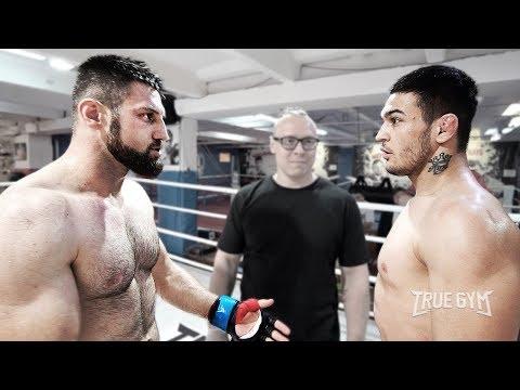 Очень дерзкий боец MMA обещал наказать боксера в стойке / Но бой получился другим