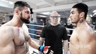 Дерзкий боец MMA обещал наказать боксера в стойке / Но такой бой никто не ожидал увидеть