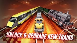 Train Simulator 3D - Game Simulasi Kereta Api (Level 1-5) (Android Game)