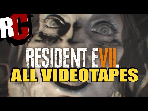 Resident Evil 7 - All Videotapes and how to find them (Be Kind, Please Rewind Achievement / Trophy)