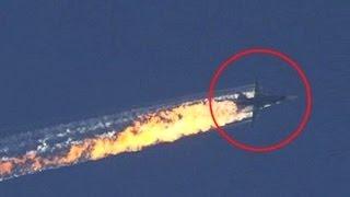 В Сирии Сбит Российский Су-24