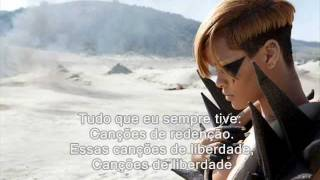 Rihanna - Redemption Song (Bob Marley) (Tradução)