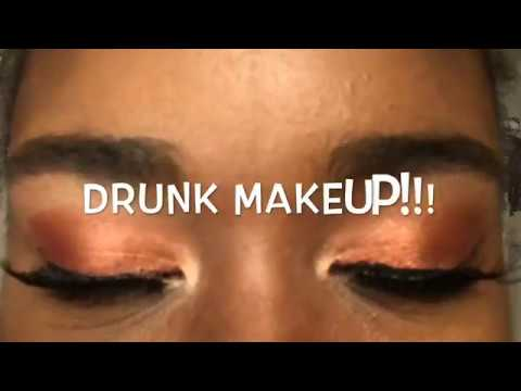 Drunk Makeup Tutorial Using My Jaclyn Hill Morphe Palette!!! thumbnail