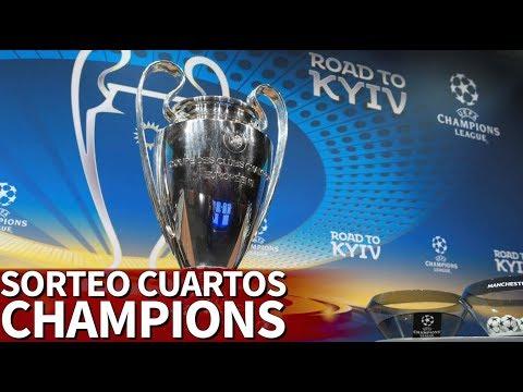 Sorteo Champions League 2018 | Así vivimos el sorteo de cuartos de final | Diario AS