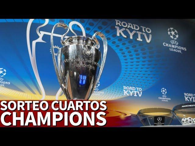 Siga aquí en directo el sorteo de cuartos de final de la Champions ...