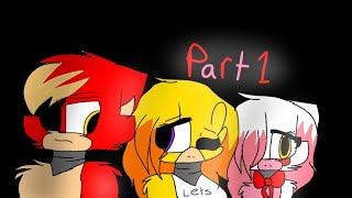 |HORRIBLE| Foxy x Mangle part 1(OLD WATCH MY NEWER VIDS PLZZ)