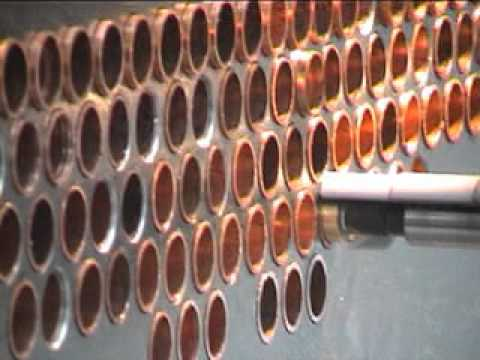 Heat Exchanger Tube Expansion With Maus Ma500 Mpg Youtube