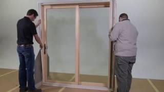 Marvin Sliding Door Shade Installation