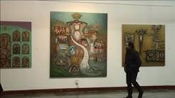 Se inauguró exposición del Maestro Hernán Illescas en la CCE